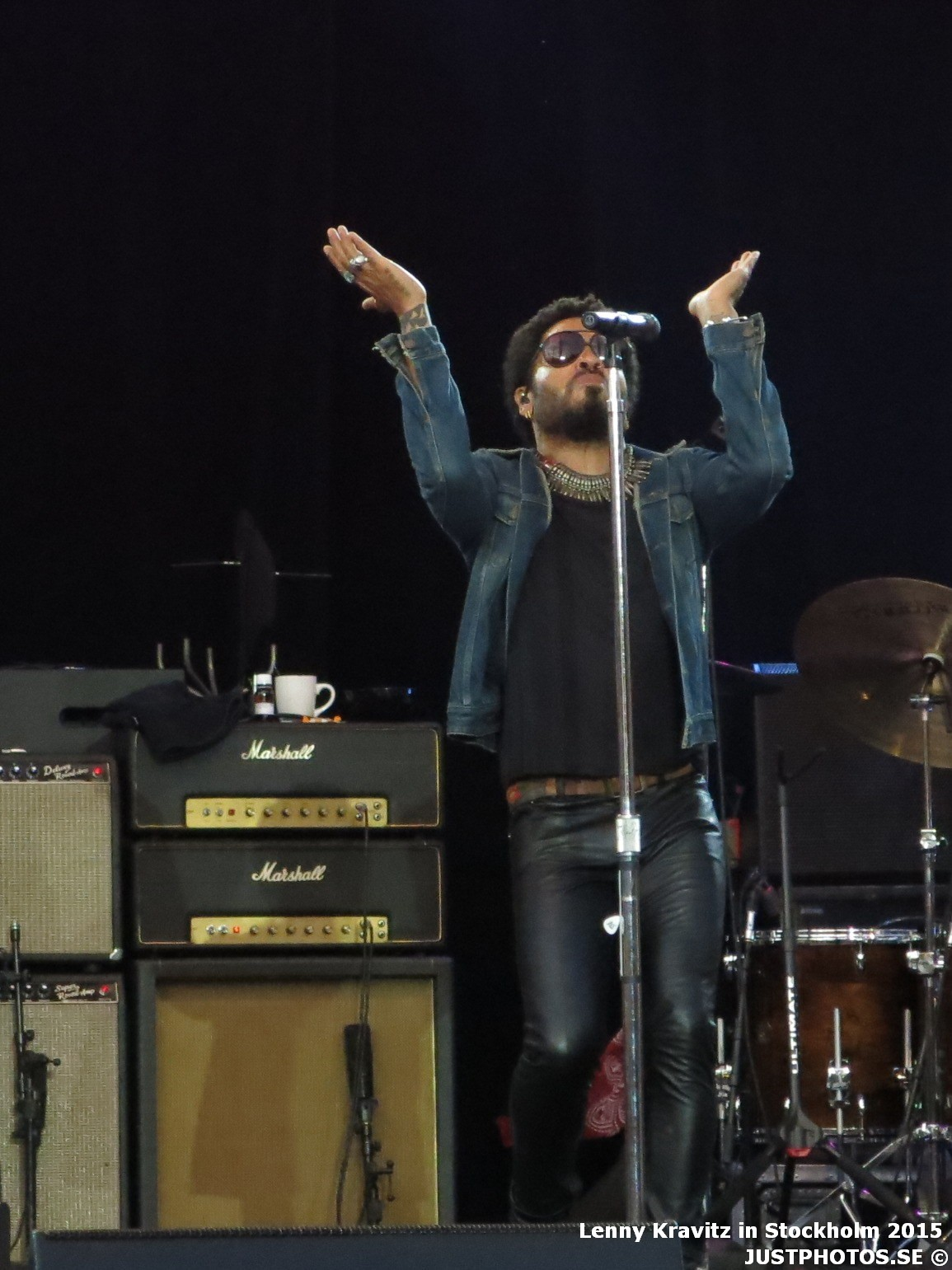 Lenny Kravitz in Stockholm 2015 (concert photos) – Just photos