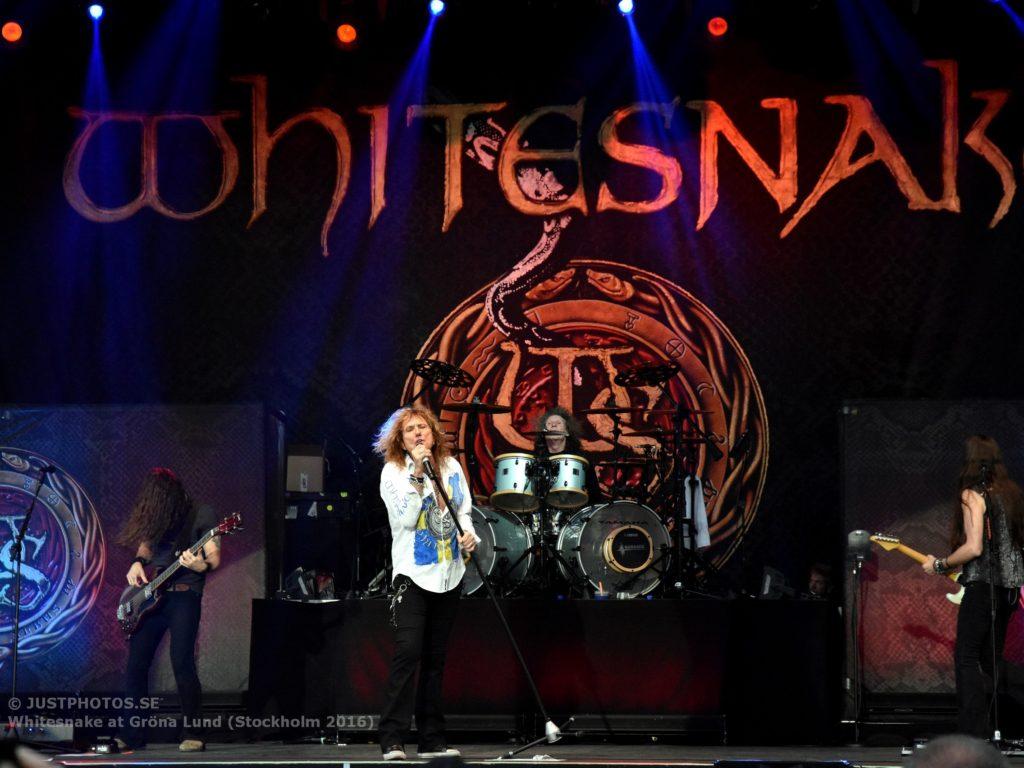 Whitesnake in Stockholm 20161