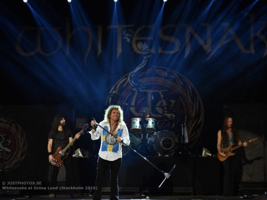 Whitesnake in Stockholm 20162