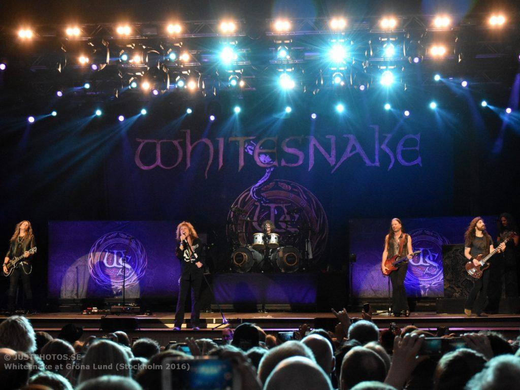 Whitesnake in Stockholm 20164