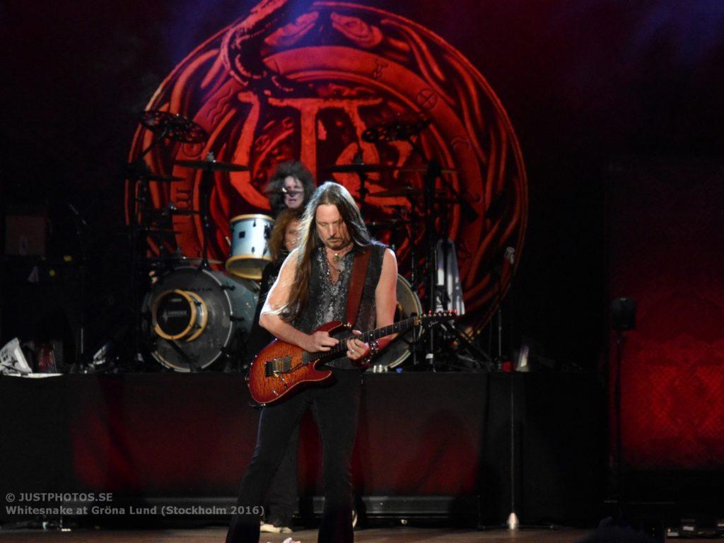 Whitesnake in Stockholm 20165