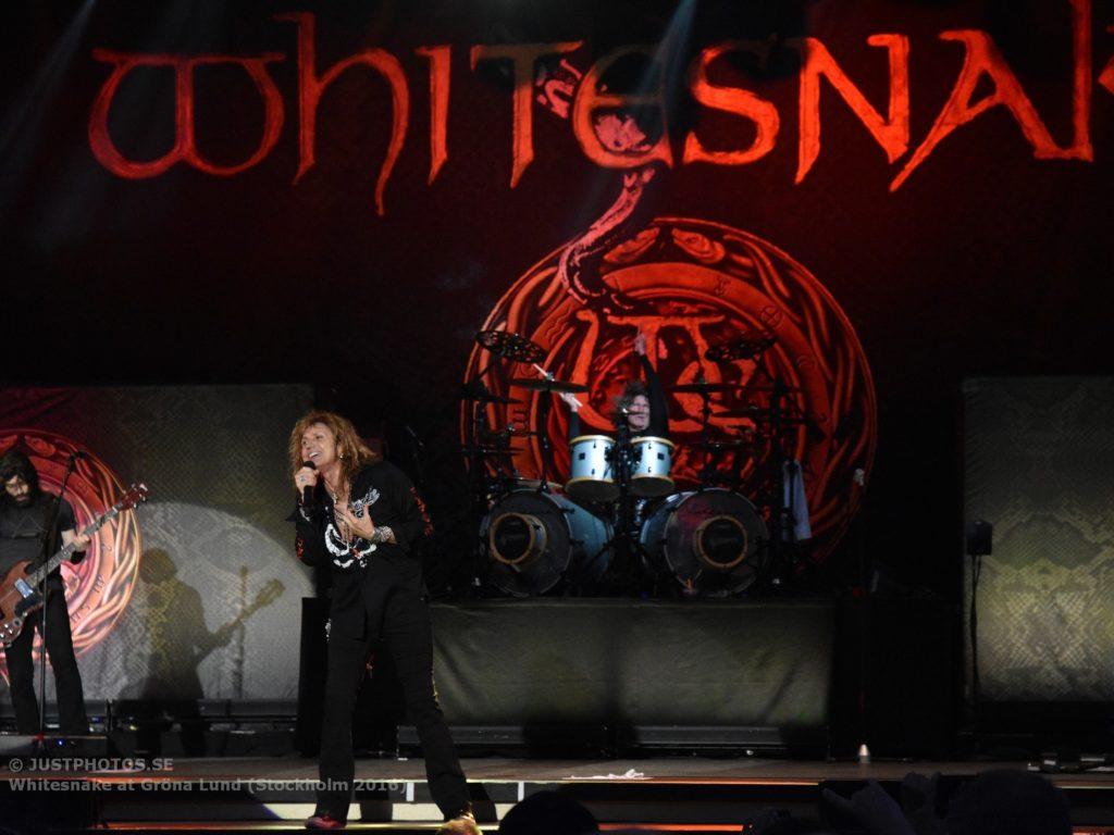 Whitesnake in Stockholm 20168
