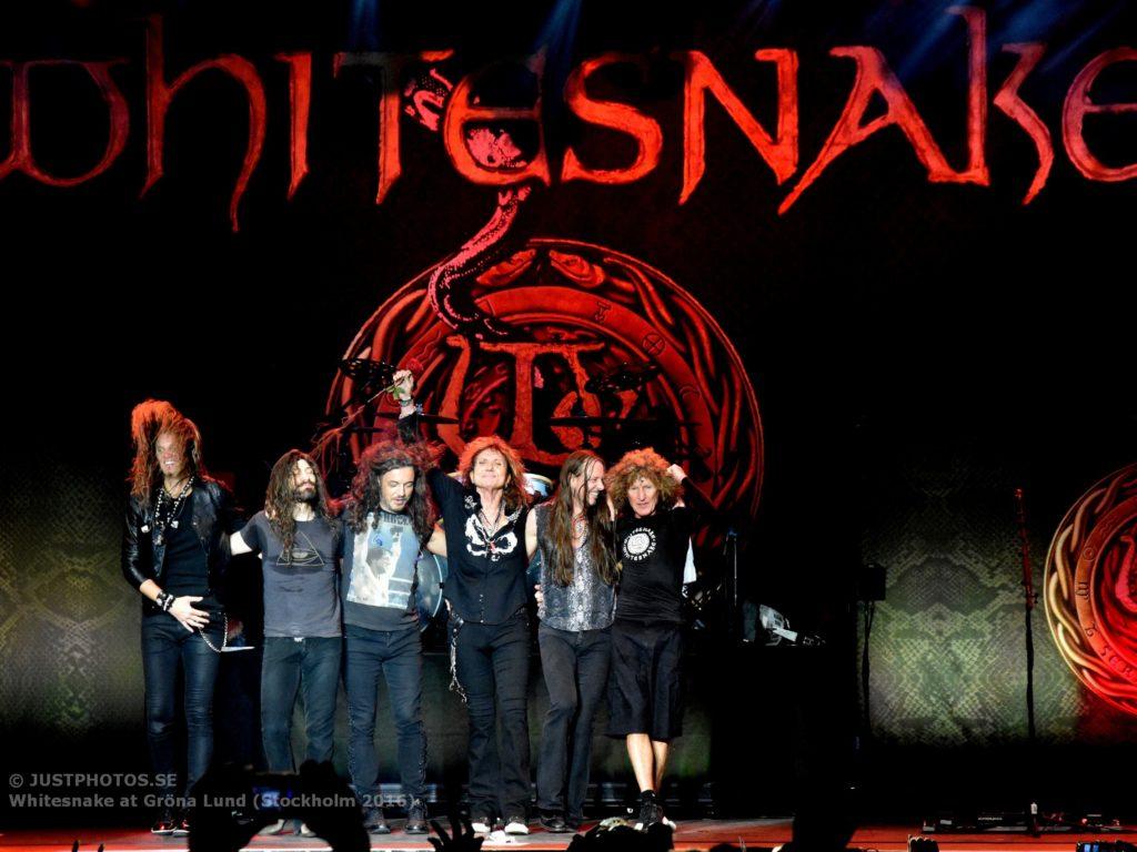Whitesnake in Stockholm 20169